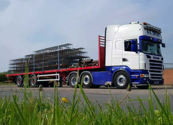 Steel reinforcement delivery