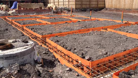prefabricated steel ground beams