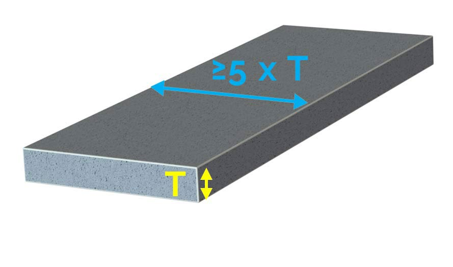 thickness of concrete slab