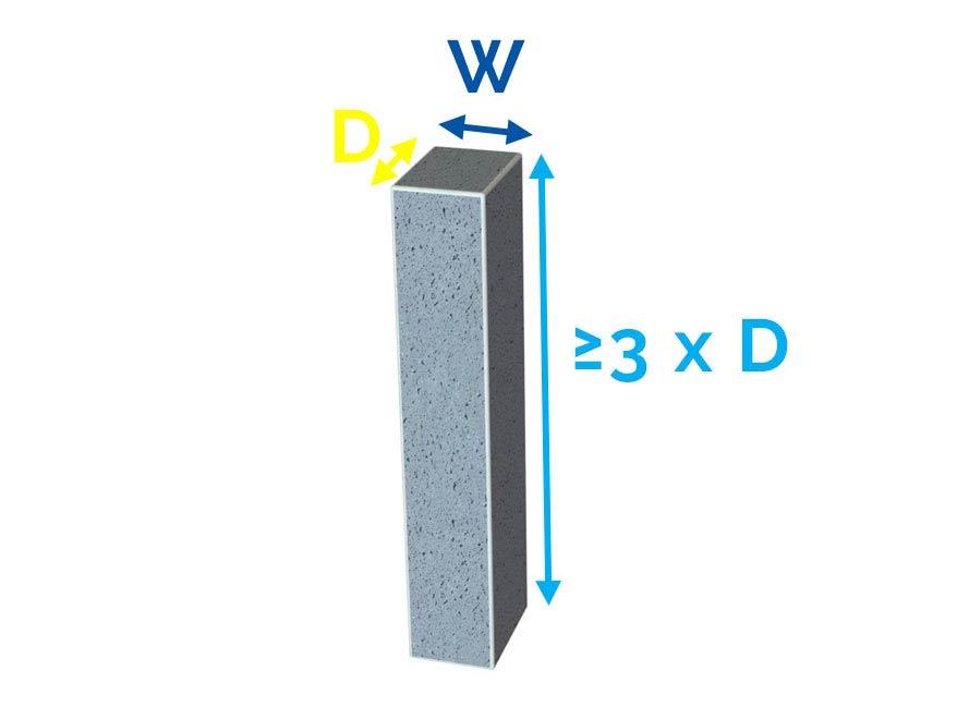 Concrete Column Thickness